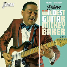 Mickey Baker-return of The Wildest Guitar-import CD With Japan OBI F30