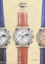 Prospekt Jubilar Chronosport 50.90 H. Sinn 2002 Uhrenprospekt Uhr Chronograph