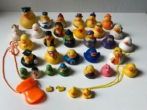 RUBBER DUCK collection keychains, necklaces, erasers, stickers, different sizes