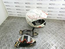 O'neal motocross MX helmet size XL and Goggles