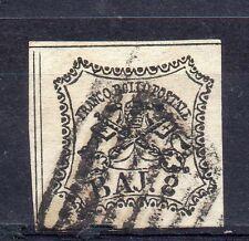 FRANCOBOLLI 1852 STATO PONTIFICIO 8 BAJ C/3287