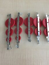 Science Experiments, Metal and Plastic Pulleys Lot of 5 Compound Simple Machine
