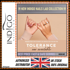 INDIGO NAILS LAB NEW TOLERANCE COLLECTION - Authorized Distributor UK