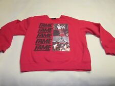 vintage 1990s CHICAGO HALL OF FAME red Sweatshirt SMALL ~ 4069