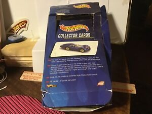 Hot Wheels Collector Cards from 1999 the packs have been opened all card present