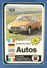 Quartett - Autos - FX Schmid - Nr. 52622 - von 1971 - Kartenspiel -- FXS