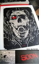 Angry Blue Artist Proof Angryblue DefCon19 Screen Print Nerd Destroyer 2011 Rare
