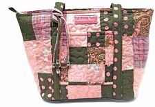 Donna Sharp Leah Handbag/Shoulder Bag in Mocha Patch Pattern (SALE!)