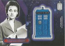 "Topps Doctor Who 2015 - ""Barbara Wright"" PURPLE Tardis Patch Card #91/99"