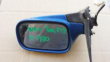 SUBARU WRX GDA 01' bug eye  DRIVER  SIDE MIRROR in blue # 1980