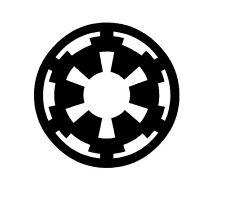 Star Wars Imperial Logo Vinyl Decal Sticker Window Glass Dark Side Sith