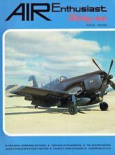 AIR ENTHUSIAST #31 JUL-NOV 86: HONDURAN AF/ CANBERRAS AT SUEZ/ VOUGHT XF8U-3