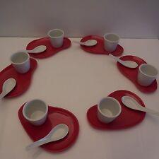 Service asiatique porcelaine blanche MAGNET LBP design contemporain