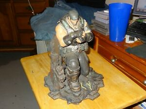 Gears Of War 3 Limited Edition Marcus Statue Only *No Rifle* Collector's Figure