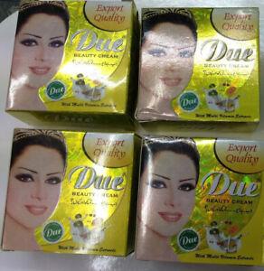 4 X Due Beauty Cream 100% Original Brand  with long expire date.