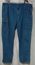 Scandia Woods Men's Size 48 XL Cargo Pockets Denim Jeans