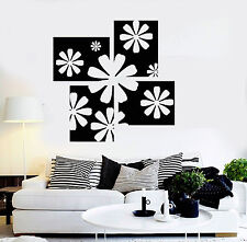 Vinyl Wall Decal Floral Art Room Flower House Interior Stickers (ig4341)