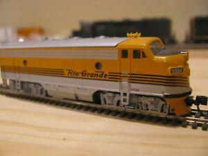 N Scale Kato F7A D&RGW Denver & Rio Grande Western #5554 DCC Ready
