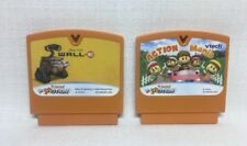 (BB) VTech V Smile Motion Lot of 2 Games Action Mania & Wall E; Free US Shipping