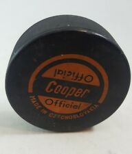 Official Cooper Hockey Puck Made in Czechoslovakia (T)