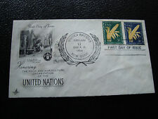 nations-UNIES (new-york) - enveloppe 1er jour 11/2/1954 (cy56) united nations