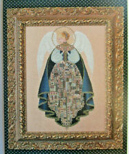 """Lavender & Lace """"Angel Of Love"""" Counted Cross Stitch Pattern  Open - Never Used"""
