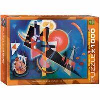 Eurographics 1000 Piece  Jigsaw Puzzle In Blue / Wassily Kandinsky  EG60001897