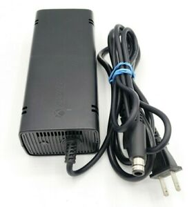 OEM Microsoft Xbox 360 Slim Power Supply Brick AC Adapter - TESTED & WORKS