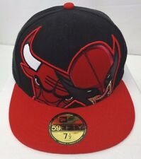 Chicago Bulls Wolverine The Hero HLC Men's New Era 59FIFTY 7 1/2 Fitted Cap Hat