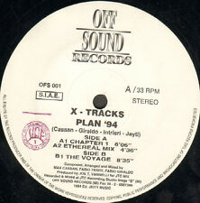 X - TRACKS - Plan '94 - Off Sound - Italy 1994 - OFS 001