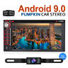 Camera+Universal 2Din Android 9.0 Car DVD Stereo Radio GPS DVR DAB+BT WIFI 8CORE