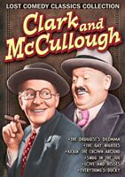 Clark and McCullough, Volume 1: Lost Comedy Classics Collection NEW DVD