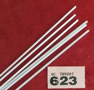 "PP623 Plastruct TFS-3 6  ""T""  pieces 2.4mm x 375mm"