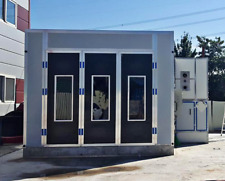 25x20x12 Commercial Automotive Spray Booth Electric Heating or Oil Heating Paint