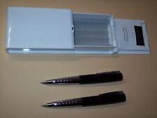 Edles Faber Castell Schreibset Loom Piano Drehkugelschreiber + Drehbleistift
