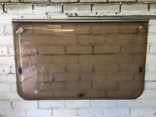 Late 80's Caravan Large Side Planet Window 1070mm w x 675mm h Dark Tint