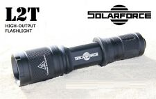 New SolarForce L2T Cree XP-L V6 830 Lumens LED Flashlight ( 18650 , CR123A )