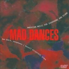 MAD DANCES: AMERICAN MUSIC FOR SAXOPHONE AND PIANO (NEW CD)