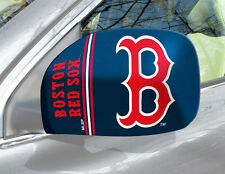 Boston Red Sox Mirror Cover 2 Pack - Small [NEW] MLB Auto Elastic Car Truck CDG