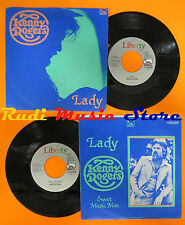LP 45 7'' KENNY ROGERS Lady Sweet music man 1977 italy LIBERTY cd mc dvd