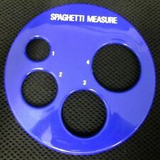 Kleeneze Blue Circular Spaghetti Measure Get the Right Amount of Spaghetti