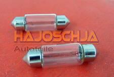 2x Glühlampe Sofitte  Soffitte 12V 5 W Kennzeichenbeleuchtung VW Golf 4 5 Polo