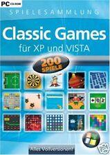 Classic Games für Windows XP und Vista (PC) TOP Spielesammlung OVP
