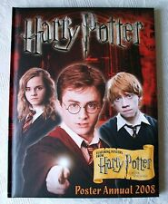 HARRY POTTER POSTER ANNUAL 2008  HARDBACK  FIRST EDITION, FIRST PRINT BOOK