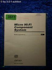 Sony Bedienungsanleitung CMT SE1 Component System (#3511)