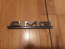AMG Mercedes Vintage ORIGINAL logo badge emblem w126, w123, R107...