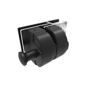 Architects Choice AC1022 75x75x120 Stainless Steel Wall Post To Glass Gate Latch