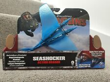 RARE NEW Seashocker Spin Master How To Train Your Dragon Action Figure Toy boxed