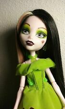 OOAK Monster High Draculaura Snow Bites Collector Doll Reroot by artist J.S.A.L.