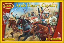 ARAB HEAVY CAVALRY  28MM HARD PLASTIC FIGURES - NEW GRIPPING BEAST RANGE